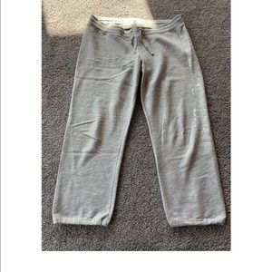 Abercrombie Gray sweatpants, Size Large